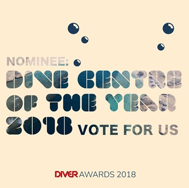 Vote For Us in the DIVER Awards 2018